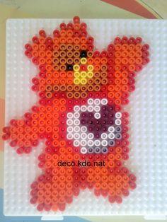 Care Bear hama beads by DECO.KDO.NAT