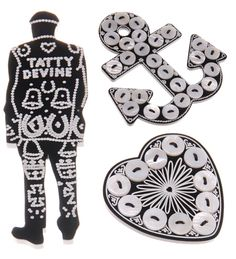 Tatty Devine, Pearly #London #Pearly #Kings #Queens