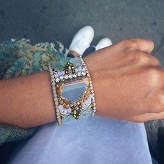 Statement cuff we adore! #boho #bohemian #bracelet #streetstyle  https://www.etsy.com/listing/385569292/agate-slice-bracelet-agate-cuff-bracelet?ref=shop_home_active_5