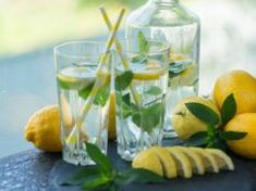 8 Specialty Waters That Can Help Fix Almost Any Health ProblemWe all know that water is good for us. It is estimated that we can only survive for days without water, as opposed to days without food. Getting Rid Of Headaches, Drinking Lemon Water, Smaller Pores, Mint Water, How To Make Rose, Ginger Water, Cucumber Water, Reduce Bloating, Fennel Seeds