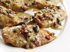Chicken with Pancetta - perfect easy weeknight dinner!