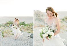 Cienna: Great Salt Lake Bridals | utahbrideblog.com Bridal Session, Hair Makeup, Salt, Gowns, Wedding Dresses, Pretty, Photography, Beauty, Vestidos