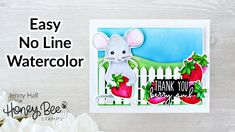 Freshly Picked with Mae the Mouse from Honey Bee Stamps - YouTube
