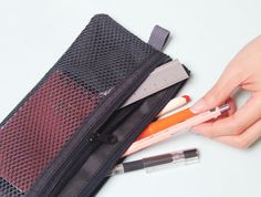 Double Mesh Pen Pouch
