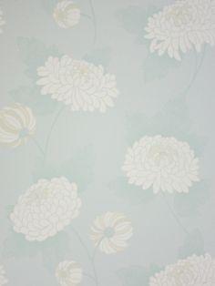 Papel Pintado Osborne & Little Wilde Chrysanthemum W5450-05 . Disponible online en Modacasa.es