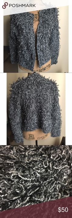 Monochrome Loopy Knit Cardigan -Brand New with tags -True to size -Similar to the Topshop Monochrome Loopy Knit Cardigan shown in the last picture.  ❌NO TRADES❌ DECKER Sweaters Cardigans