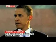 Obama New World Order Speech in Berlin hailed by SKY News