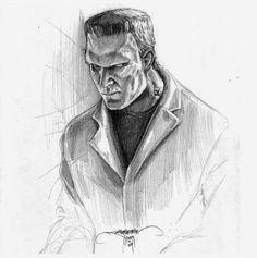 Boris Karloff Frankenstein by B²rian Lopez Santos
