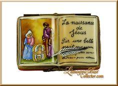 Open Holy Bible Nativity (Beauchamp)