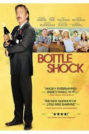 Terrific film starring Alan Rickman.  True story re. 1976 french sommelier coming to see for himself what all the fuss is over the CA wines.