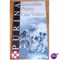 Incredible Puppy Care Video VHS Tape Listing in the Training,Dogs,Pets,Home & Garden Category on eBid United States