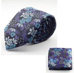 New Design Silk Tie Set for Men Tie Men Handkerchief Necktie Man Hombre Floral Slim Wedding Tie