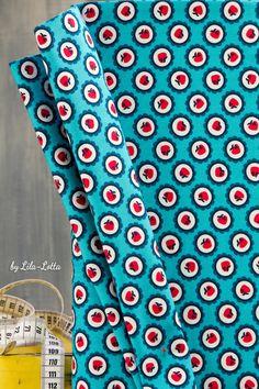 Zwerg Carlitos Stöffchen by Lila-lotta.com for Swafing  #zwergcarlitos #swafing #fabric #pattern #sew #nähenisttoll #farbenmix