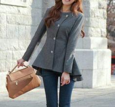 flawless fashion - Peplum fall jacket, $70.00 (http://www.flawlessfashionn.com/peplum-fall-jacket/)