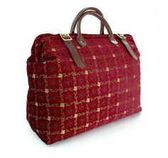 Weekender / Overnight / Carry on / 'Carpet' Travel by LondonJacks