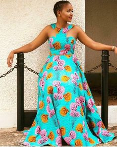 Fantastic maxi dresses are available on our internet site. Take a look and you wont be sorry you did. African Dresses For Women, African Print Dresses, African Print Fashion, African Fashion Dresses, African Attire, African Women, Fashion Outfits, Ankara Fashion, African Prints