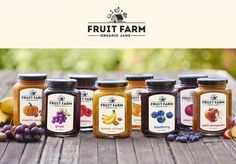 Fruit Farm Organic Jams by Dylan Wright