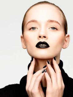 34 Best Black Lips images in 2014 | Black lips, Hair, Black lipstick