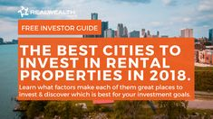 13 best-buy cities revealed. Find out what factors indicate these are the best places to invest in 2017 & why.