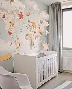 92 Ideas De Papel Pintado Para Bebés Papel Pintado Decoración De Unas Sobres De Papel