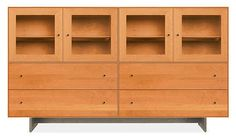 Hudson Cabinet with Wood Base - Cabinets & Armoires - Living - Room & Board