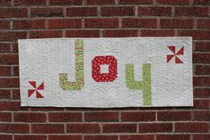 Rejoice Table Runner Quilt Pattern pdf by CynthiaBDesigns on Etsy