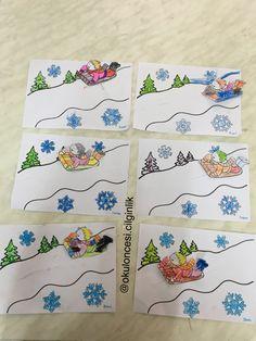 New Years Activities, Winter Activities For Kids, Winter Crafts For Kids, Winter Kids, Holiday Activities, Winter Christmas, Art For Kids, Diy And Crafts, Paper Crafts