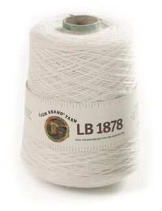 LB 1878 Yarn from Lion Brand Yarn. Over 2K yards of fingering weight wool. I'm partial to the Plum and Dusty Grey colorways