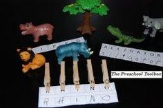 #Zoo Theme #Literacy Activity for #Preschool and #Kindergarten