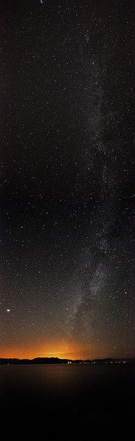 Milky Way, Lake Tahoe, California: This is truly what you see with a Star Tours guide at @Northstar California !