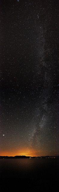 Milky Way, Lake Tahoe, California