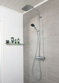 Luxury rain shower set with thermostatic faucet Oras Optima Shower Set, Rain Shower, Shower Faucet, Oras, Color Schemes, Home Improvement, Bathtub, Faucets, Bathrooms