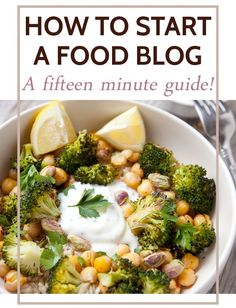 How to start a food blog in 15 minutes! A quick walkthrough on how to secure a domain and install wordpress so you can start writing your own content. I also included lists of some excellent themes and plugins so you can be up and running in no time! #blogging Blogging