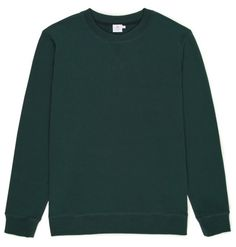 Sunspel - Moss Green Loopback Cotton Sweatshirt A modern take on the original sportswear made using sunspel's unique soft loopback Smart Casual, Casual Looks, Cut Sweatshirts, A Good Man, Sportswear, Turtle Neck, Unique, Green, Sweaters