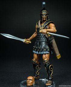 Athena Goddess, Mother Goddess, Greek Soldier, Armor Clothing, Greek Warrior, Figure Photo, Fantasy Miniatures, God Of War, Ancient Greece