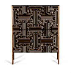 Loop Kabinett mit 4 Türen von Coucou Manou 1