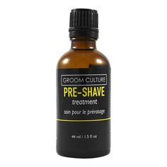 Groom Culture Pre-Shave Treatment