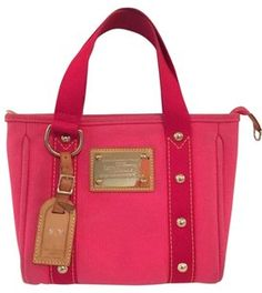 The Louis Vuitton Antigua Cabas Pm Pink Tote Bag is a top 10 member  favorite on Tradesy. Save on yours before they re sold ... be8928da97