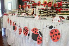 """Photo 22 of Ladybug Birthday Party / Birthday """"Ladybug Birthday Party"""" Picnic Birthday, First Birthday Parties, Birthday Party Themes, Park Birthday, Ladybug Picnic, Ladybug Party, Ladybug 1st Birthdays, First Birthdays, Fun Party Themes"""