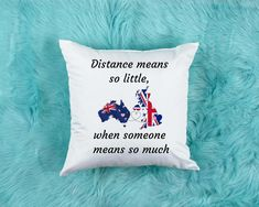 This week's best seller already! Clearly the distance between us is too far. Bring your loved ones a little close today ❤ · · · · · · · · #love #distance #longdistance #breakthedistance #longdistancerelationship #ibf #friends #onlinefriends #distancelove #friendship #distancerelationship #distancesucks #bestfriends #internetbestfriends #ibfgoals #internetfriendgoals #lovequotes #distancemeansnothing #distanced #distanceisnothing #ldr #family #familyfirst #familylife #familybonding #familygoals # Long Distance Pillow, Long Distance Gifts, Long Distance Friendship, Moving Away Gifts, Goodbye Gifts, Presents For Best Friends, Leaving Gifts, Friendship Gifts, Sister Gifts