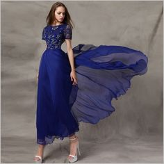SGD 88 Blue Ball Gowns, Platform, Formal Dresses, Shopping, Fashion, Dresses For Formal, Moda, Formal Gowns, Fashion Styles