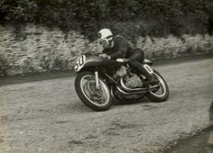 Geoff Duke in 1954/55 Classic Motorcycle Pictures