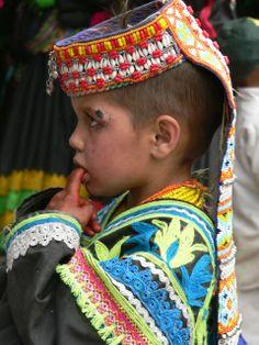 Kalash boy, Pakistan