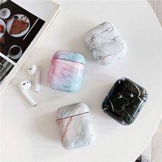 Cute Cases, Cute Phone Cases, Iphone Phone Cases, Iphone 10, Fone Apple, Apple Airpods 2, Accessoires Iphone, Earphone Case, Marble Case