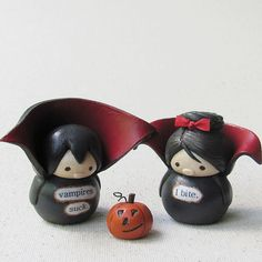 Wee Vampires and Miniature Jack-O-Lantern | Flickr - Photo Sharing!