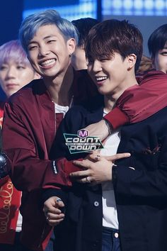 (BTS) Rapmonster & Jimin aka the heart throbs