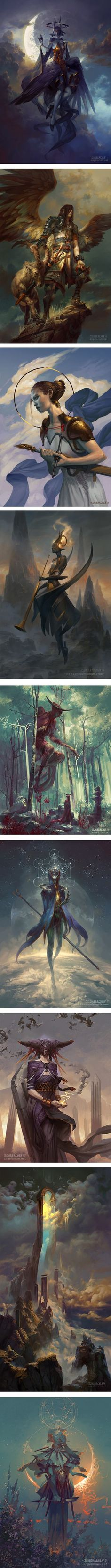 Peter Mohrbacher   Lines and Colors :: a blog about drawing, painting, illustration, comics, concept art and other visual arts