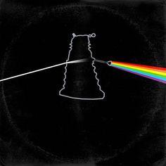 Doctor Who (Dalek) /Pink Floyd Dark Side of the Moon