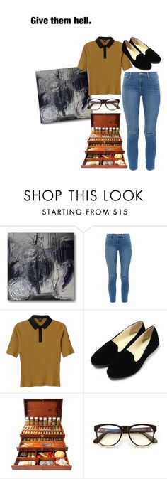 """""""Give them hell."""" by rusher-decorazon on Polyvore featuring moda, Frame Denim, Monki y Wildfox"""