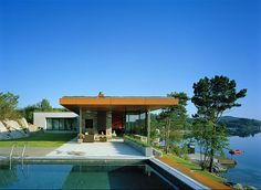 The Mountain Gunderson House by WRB